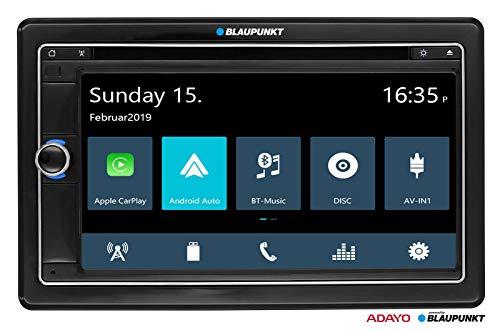 Blaupunkt Vienna 790 DAB - Doppel-DIN CD/DVD/MP3-Autoradio mit Touchscreen/Bluetooth/USB/SD