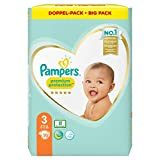 Pampers - Premium Protection Taglia 3 Pannolini Taglia 3 (6-10 kg) - 70 Pannolini
