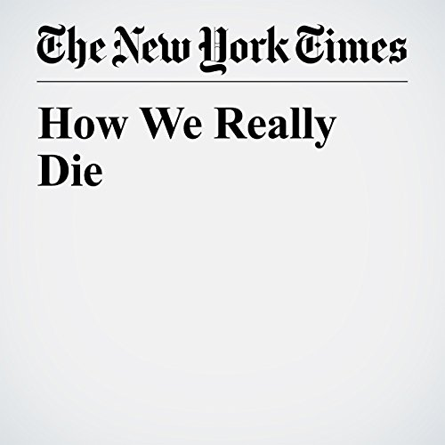 How We Really Die copertina