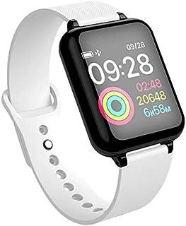 Zhicaikeji Bracelet étanche Montre à écran Tactile Couleur Tactile (Color : Blanc)
