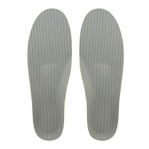 Almencla Palmilhas ortopédicas de comprimento total inserções de sapato palmilha de apoio de, inserção para pés planos, palmilhas de fasciite plantar para - 35-40