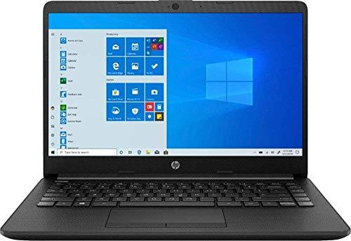 "2020 HP Premium 14"" Micro-Edge Laptop Computer, AMD A9-9425 up to 3.7GHz, 4GB DDR4 RAM, 128GB PCIe SSD, WiFi, Bluetooth 4.2, USB Type-C, HDMI, Webcam, Silver, Windows 10 Home, YZAKKA Mouse Pad"