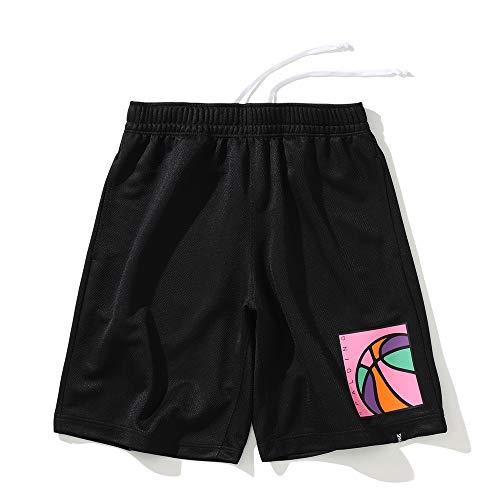 SPALDING(スポルディング) バスケットボール プラクティスパンツ ネオンボール SMP201340 ブラック Sサイズ バスケ バスケット