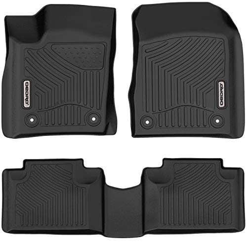 OEDRO Floor Mats Compatible for 2016-2021 Jeep...