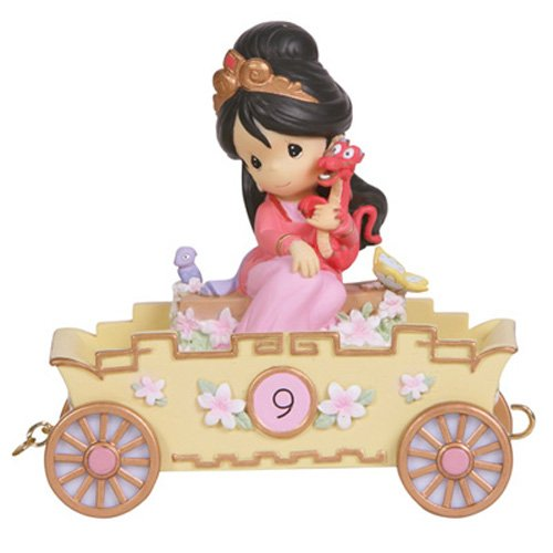 Precious Moments, Disney Showcase Collection,  Nine Is Divine!, Disney Birthday Parade, Age 9, Resin Figurine, 114426