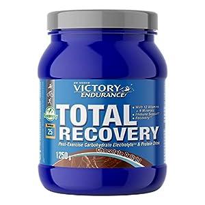 Victory Endurance Total Recovery. Maximiza la recuperación después del entrenamiento. Enriquecido con electrolitos y vitaminas. Sabor Chocolate (1250 g)