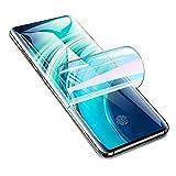 Iiseon Premium hidrogel Protector de Pantalla para Motorola Moto G 5G Plus, 2 Unidades Suave Película Protectora [Transparente] [Alta sensibilidad] (Película no templada)