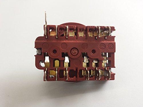 Ricambio DREYMA SELECTOR Forno Fagor 426/66/86 250 V 16 Ampere Temperatura 125 OC