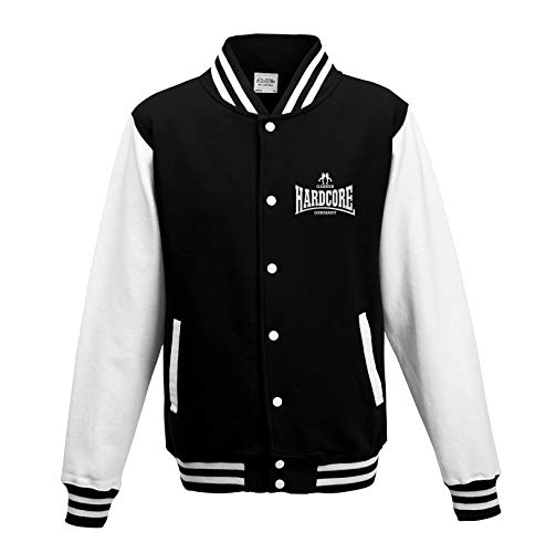 KNOW-MORE-STYLEZ College Sweatjacke Hardcore Gabber Germany (XL)