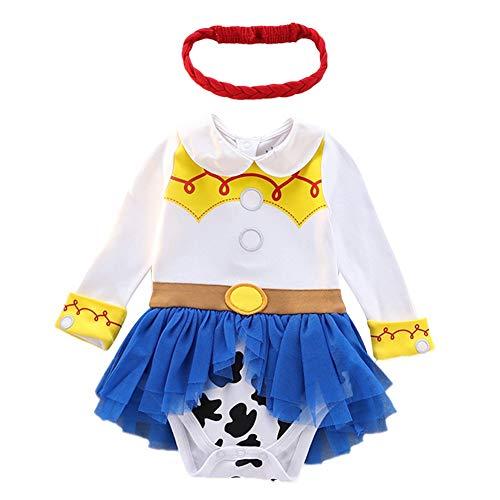 MYRISAM Jessie Costumes for Baby Toddler Girls Princess Birthday Cowgirl...