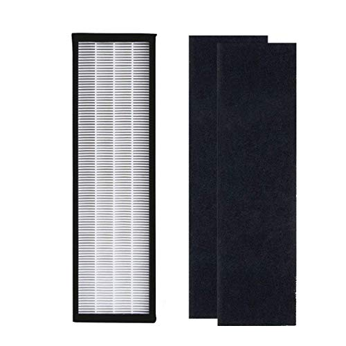 iAmoy HEPA Filter Compatible Air Purifier PureMate PM 510,Breathe Fresh 56cm,Germ Guardian AC4825 AC4300 AC4800 AC4900 Series (1 Set Replacement Filter and 1 Pcs Carbon Filter)