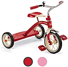 """Radio Flyer Classic Red 10\\"""" Tricycle for Toddlers ages 2-4 (34B)"""