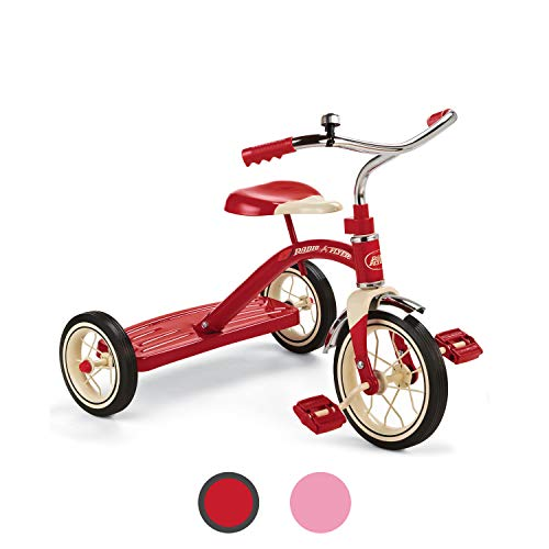 Radio Flyer Classic Red 10' Tricycle for Toddlers ages 2-4 (34B)