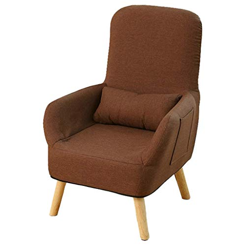 Dining Chair Indoor Deck Chair Recliner Chair Couch Sofa Lounge Chairs Armchair Padded Side Chair Guest Chair Dressing Table Computer Chair Gaming Chair for Home Office Sleeper