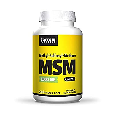 Jarrow MSM (1000mg, 200 Capsules) from Jarrow FORMULAS