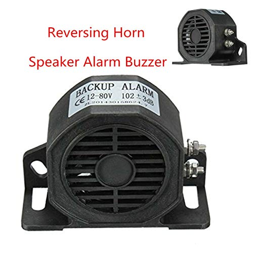 XuBa Auto-Rückfahr-Sirene mit Alarmsignal für Buzzer, Lautsprecher und LKW, 105 dB