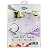 """Abstract Waterproof Mattress Cover – 39 x 75 x 12"""" for Twin Sized and Bunk Beds – Heavy Duty Vinyl Plastic Bed Protective Zippered Sheet, 100 GSM PVC – Long Lasting Quality, Comfortable – by Abstract"""