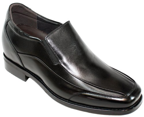 High Heel All Leather Shoes for Men