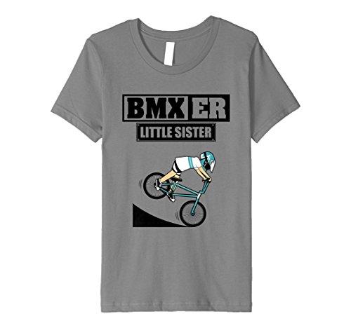 Kids BMXer Little Sister T-Shirt - BMX Bike Girls Tee