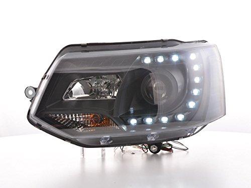 FK Automotive FK Scheinwerfer Daylight LED Tagfahrlicht schwarz FKSFSVW17001