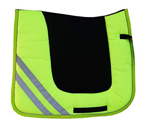 Reitsport Amesbichler Bseen reflektierende Schabracke Reflex, gelb und reflektierend Dressur
