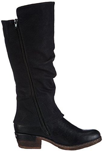 Rieker 93655 Damen Langschaft Stiefel, schwarz - 6