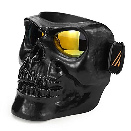 AMFG Equipo de motociclista Gafas protectoras a prueba de viento Off-Road Polvo a prueba de polvo Gafas Masculinos (Color : B)