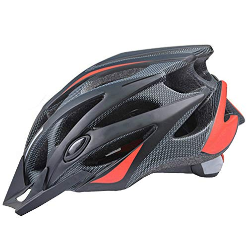 Light and breathable mountain bike helmets for men and women, suitable for safe adult riding (suitable for head circumference 58-61cm)