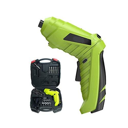JF-XUAN Cordless Electric Drill Cordless Drill, 3.6V Cordless Screwdriver, Mini Hand Drill, Tool Set, Power Tool (Size : 3.6V)