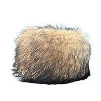 (ゲナ)GENA 毛皮 6631016 ブラウン 茶 帽子 レディース ハット キルティング フィンラクーン 防寒対策 秋冬