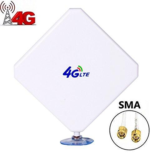 SMA 4G Hochleistungs LTE Antenne 35dBi Netzwerk Ethernet Verstärker-Antenne Omnidirektionale Antenne Signalverstärker Verstärker für Huawei B593/B880/E5172/E5175/E5186/B890 etc