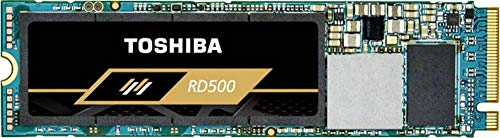 Toshiba RD500 NVMe SSD 500 GB M.2 2280 PCIe 3.0 x4 - Internes Solid-State-Module