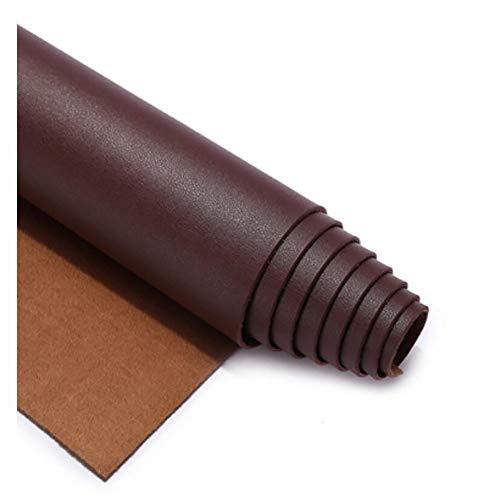 SSYBDUAN Tissu Simili Cuir Imperméable Tissu Similicuir Matière Imitation Cuir Tissu PU Art Artisanat leathercloth - Tissu Faux Cuir - pour ameublement, canapé, chaises,vin Rouge (Size : 1.38×1m)