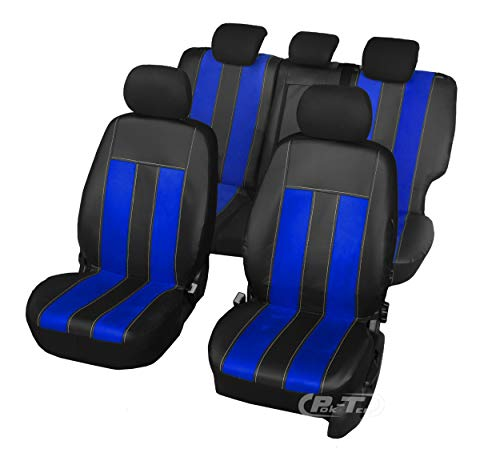 Nieuwe serie - GT universele stoelhoezen compatibel met Suzuki Swift IV 2004-2010 5-deurs eenvoudige montage één set hoezen GT OCEAN