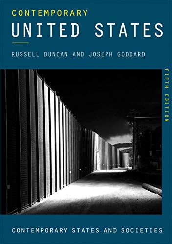 Contemporary United States: An Age of Anger and Resistance (Contemporary States and Societies) (English Edition)