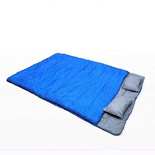 Azul Verde Impermeable Tipo de sobre Caliente Portátil Grueso Doble S