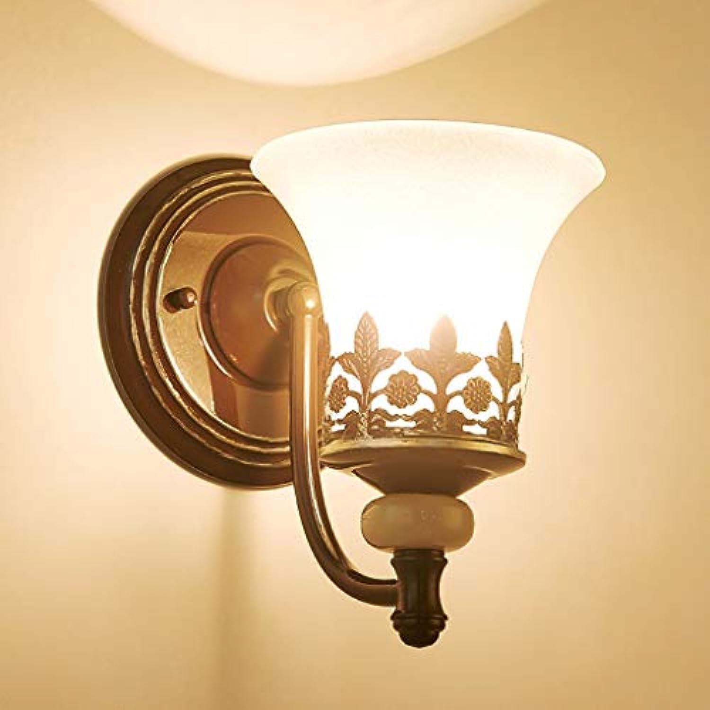 GFF American Wall Lamp European Nordic Iron Wandleuchte Scheinwerfer Wohnzimmer Schlafzimmer Nachttischlampe Spiegel Scheinwerfer Korridor Korridor Treppenlicht