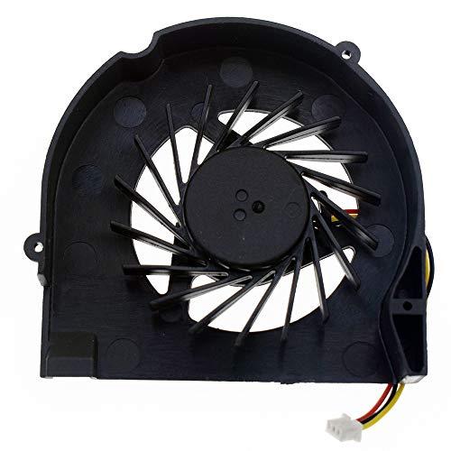 DREZUR Ventilador de refrigeración de CPU (3 agujeros de tornillos) compatible con HP Compaq CQ50 CQ60 G50 G60 Series enfriador de portátil 489126-001 KSB05105HA-8G99