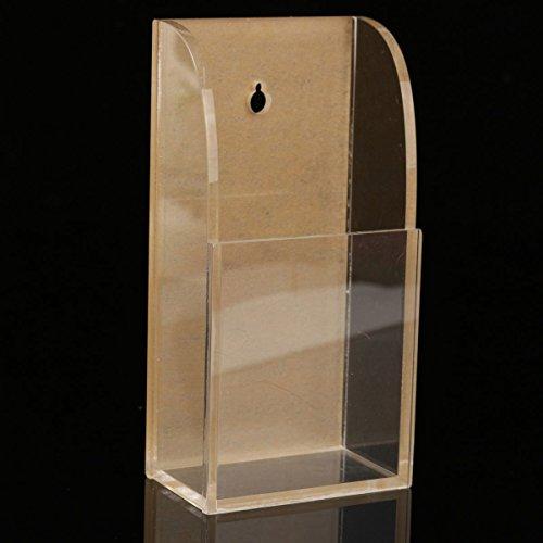 KING DO WAY Porta Telecomando Scatola Stoccaggio Penne Telefono Organizzatore Acrilico Trasparente Titolare Contenitore Portaoggetti Chiavi Supporto Plastica