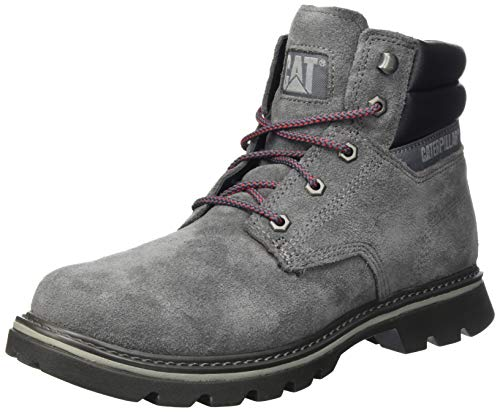 Cat Footwear Herren Quadrate Stiefeletten, grau (Gunmetal Grey), 44 EU