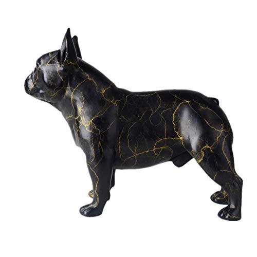 BOZNY Estatua de la Escultura Estatuas de Bulldog Francés Figuras Animal Perro...