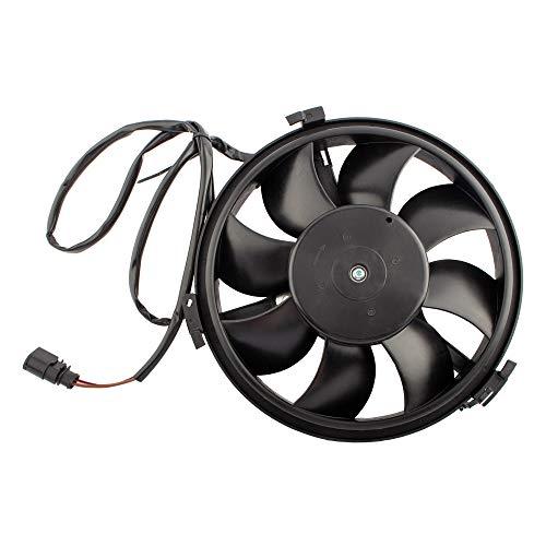 BOXI 8D0959455R Radiator Cooling Fan Replacement for Audi A6 1999 2000 2001 / Audi S6 2002-2003 / Audi A8 S8 2001 2002 2003 / VW Passat 2001 2002 2003 2004 2005 (Replace 8D0959455P 620-831)