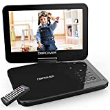 """Best Flip Down Dvd Players - DBPOWER 12.5"""" Portable DVD Player with 10.5"""" Swivel Review"""