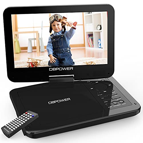 DBPOWER 12.5' Portable DVD Player with 10.5' Swivel Screen Car Built-in 5...