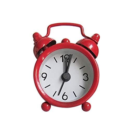 JERFER Sveglia Piccola Sveglia Sveglia di Metallo Sveglia della Piccola Sveglia Creativa