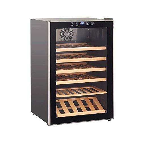 Armario para vinos, Puerta de Seguridad de Doble Capa, Puerta de Doble acristalamiento, diseño Resistente a los Rayos UV Silencioso, Ahorro de energía