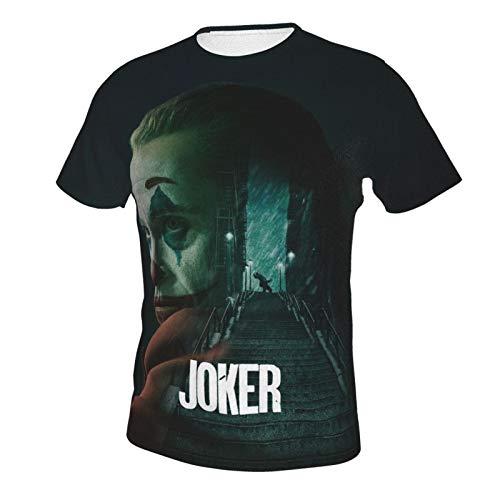 The Joker T-Shirt 3D Printed Crewneck