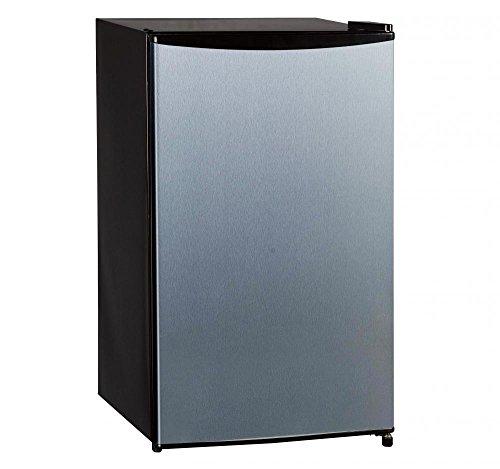 Midea WHS-121LSS 3.3 cu. ft. Single Door Refrigerator, SS look