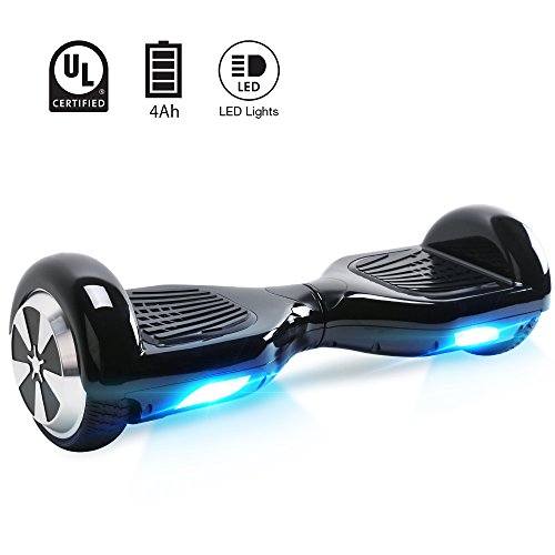 """Windgoo Hoverboard 6.5"""" Bluetooth Balance Board Patinete Eléctrico Scooter Talla LED 250W*2"""