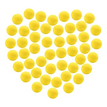 EagleStone EVA Foam Balls for Popper Air Blaster Toy Guns  48 Pack 1.1inch Replacement Bullet Balls for Shooting Game Toy Guns